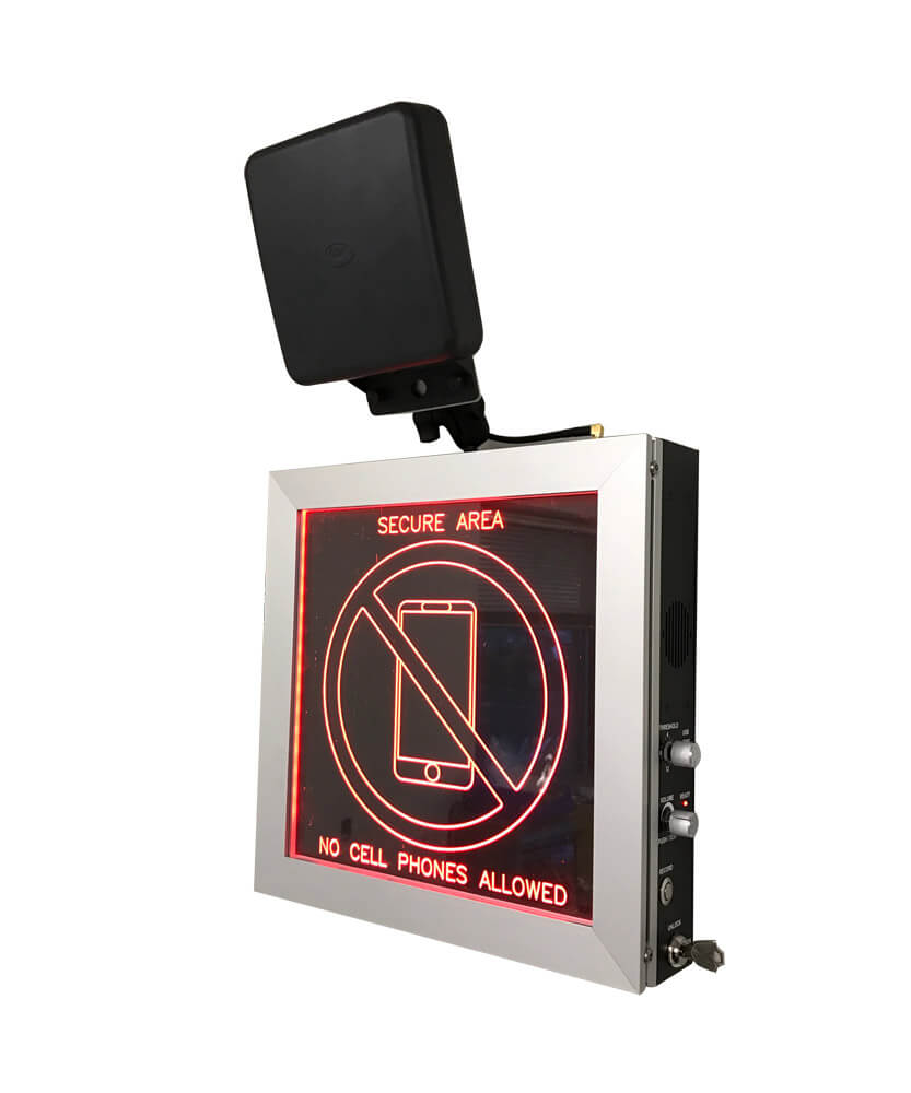 WallHound cell phone detector and deterrent